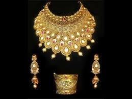 antique gold necklace designs for wedding and festivals gold