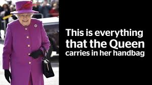 this is everything that the queen carries in her handbag london