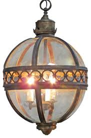 Chandelier New York New York Bronze Ball Chandelier Traditional Chandeliers By