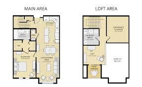 One Bedroom Apartment Floor Plans by One Bedroom Loft 1 Bedroom Loft1 Bedroom Loft Condos In Snowmass