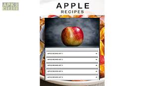 recipe apk apple recipe for android free at apk here store apkhere