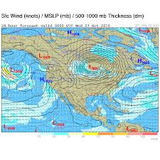 Barometric Pressure Map A Record Breaking Storm A Comparison To The Nov 10th 1998 Storm