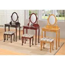 Vanity Table And Bench Set Makeup Table Vanity On Clearance