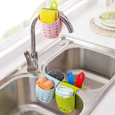 hanging ls for kitchen 2 sided kitchen sink bathroom hanging strainer storage holder bag