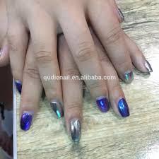 sharpie mirror powder chrome watercolor nail art youtube