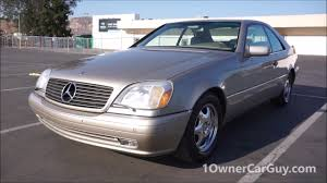 1999 mercedes benz cl500 coupe w140 hipster cars youtube