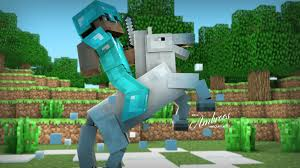 Capture The Flag Minecraft Hd Glacial Steed 3d Minecraft Wallpaper