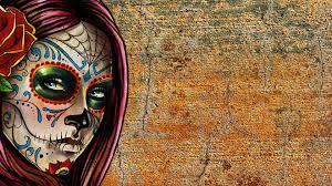 halloween background sugar skulls sugar skull wallpaper download free cool full hd wallpapers