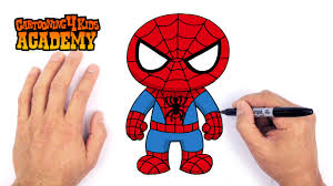draw spiderman art beginners