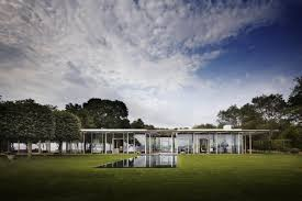 Glass Box House Fishers Island Glass House By Thomas Phifer And Partners