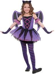 ballerina bat vampires girls fancy dress halloween party childs