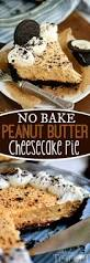 no bake peanut butter cheesecake pie mom on timeout