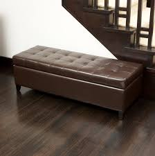 storage ottoman bench brown bench large storage ottoman bench contemporary furniture with of