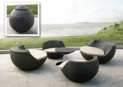 outdoor furniture for small spaces rattan patio furniture the urban backyard
