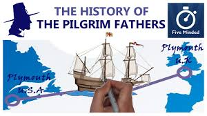 Pilgrim Thanksgiving History The Pilgrim Fathers Animated For Kids Youtube