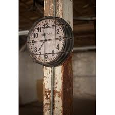 Outdoor Pedestal Clock Thermometer Decorative Clocks Wall Hanging Desk Large U0026 Small On Sale