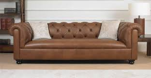 Small Sofa Leather Small Leather Chesterfield Sofa Home And Textiles