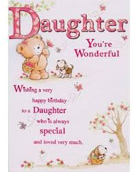 birthday greeting card for daughter