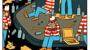 Animated Halloween Graphics by Vice Cartoonists Remember Their Worst Halloween Costumes Vice