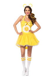costumes for adults care bears funshine costume costumes