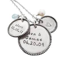 silver necklace name charms images 44 best birthstone bracelets for moms images jpg