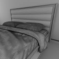 mobilfresno savoy collection bed 3d cgtrader