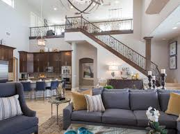 Drew And Jonathan Scotts Las Vegas Home Features A Large Two - Family rooms las vegas