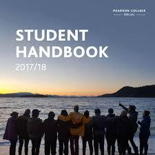 student handbook 2017 18 by pearson college uwc issuu