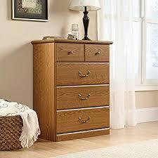 small drawer dresser sauder beginnings 4 drawer chest highland oak