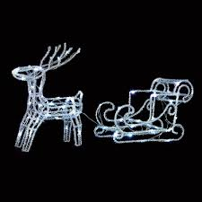 reindeer lights outdoor home decorating interior design bath
