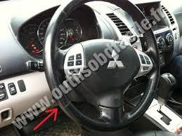 Mitsubishi Pajero 2008 Interior Obd2 Connector Location In Mitsubishi Pajero Sport 2008