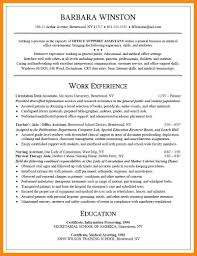 Resume For Library Job by 6 Resume For Office Job Manager Resume