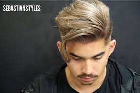 haircuts with longer sides and shorter back hairstyles for men with long hair 2018