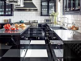 white kitchen cabinets tile floor black and white floors that make a statement architectural