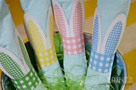 easter napkin rings easter napkin rings and hop dimple prints