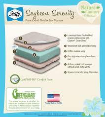 Organic Mini Crib Mattress by Mattresses Safest Crib Mattress 2017 Moonlight Slumber Pillow