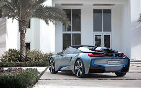 Bmw I8 Concept - bmw i8 spyder plug in hybrid concept video electric vehicle news