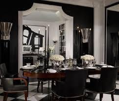 unique design black dining room luxury idea how to use black
