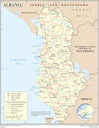 Map Of Albania Countries Map Image 2016