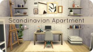 sims 4 speed build scandinavian apartment group collab youtube