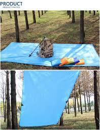 Beach Awnings Canopies Ultralight 300cm Sun Shelter Portable Camping Mat Beach Tent