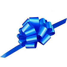 blue support ribbon large royal blue ribbon pull bows 9 wide set of 6