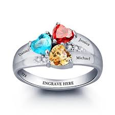design your own mothers rings jewelry design your own mothers ring with 3