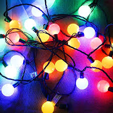 commercial grade christmas lights g40 globe decorative string lights colored longer life up to hours