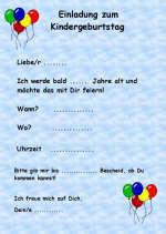 einladungssprüche kindergeburtstag einladungskarten für den kindergeburtstag