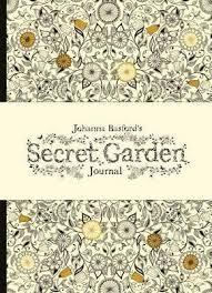 secret garden coloring book chile johanna basford s secret garden journal johanna basford