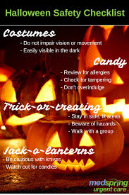 halloween safety tips trick or treating u0026 pumpkin carving