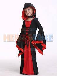 girls fancy dress kids vampire cosplay halloween costume