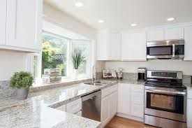 Pictures Of White Kitchen Cabinets With Granite Countertops Colonial White Granite Countertops Pictures Cost Pros And Cons