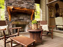 how to build outdoor fireplace chimney home fireplaces firepits